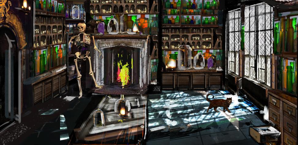 Plague Room - Concept Art