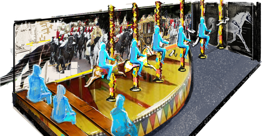Horse Carousel - Concept Art