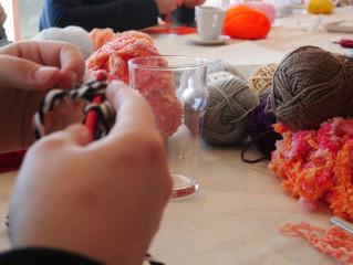 Rencontre et couleurs autour du crochet