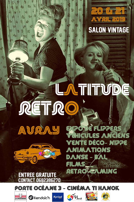 "Salon Vintage "" Latitude Rétro"""