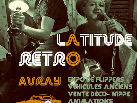 """""""Latitude rétro""""c'est le petit nom du premier salon vintage à AURAY... rdv ZA Porte Oc"""