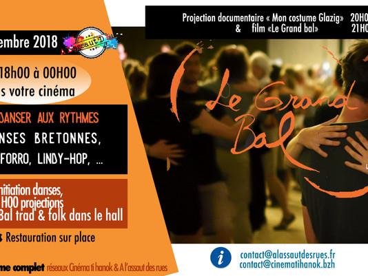 Grand bal Pop & Folk au cinéma Ti Hanok