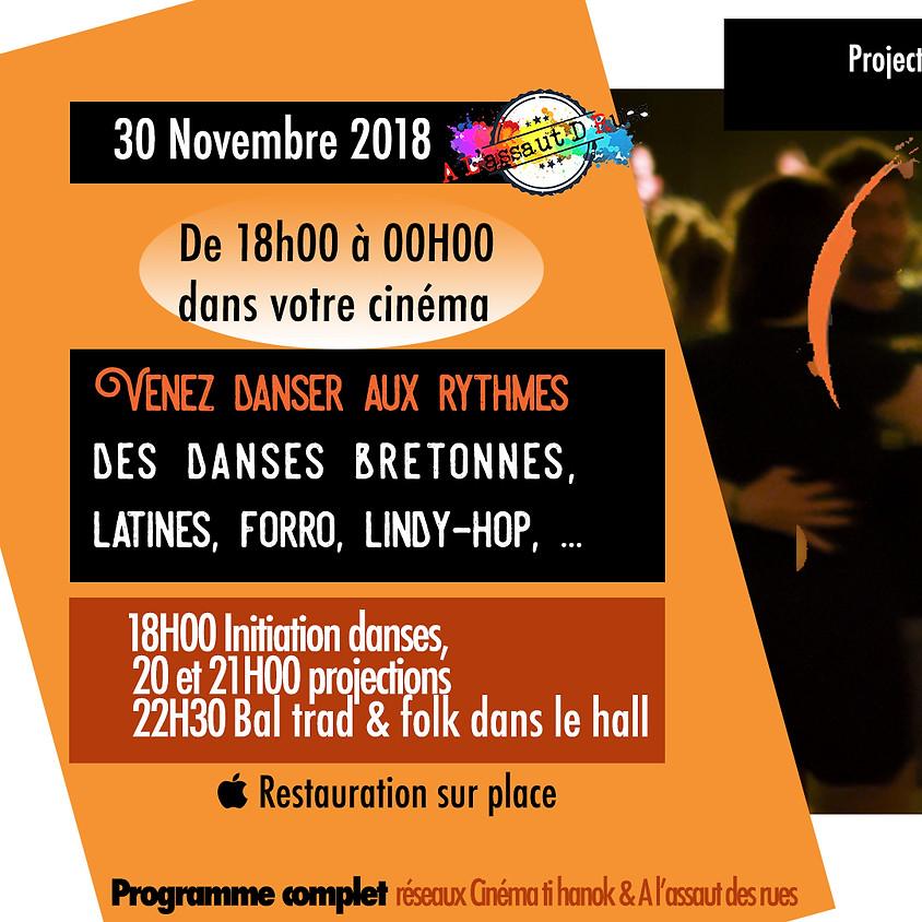 Le grand bal au cinéma Ti Hanok - 30 NOVEMBRE 2018