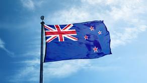 Die Nationalflagge Neuseelands