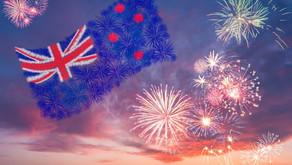 Neuseeländische Neujahrsfeierlichkeiten