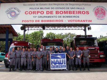 Jornada - Sub junto com a NAUI fortalecendo treinamento dos Bombeiros
