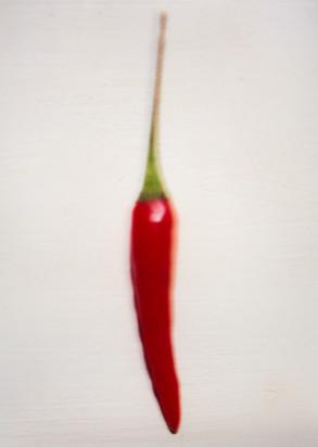 unscharfe Chili