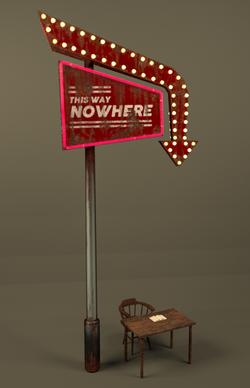 This Way Nowhere (Closeup)