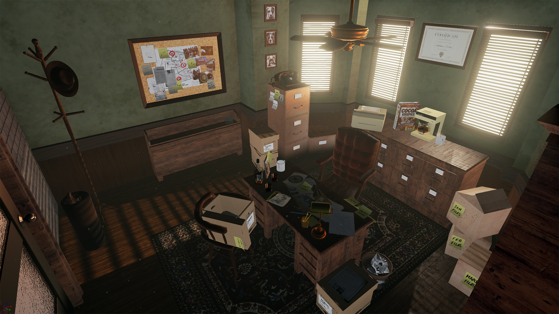 Detectives Office