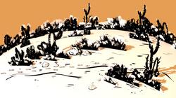 2D Desert