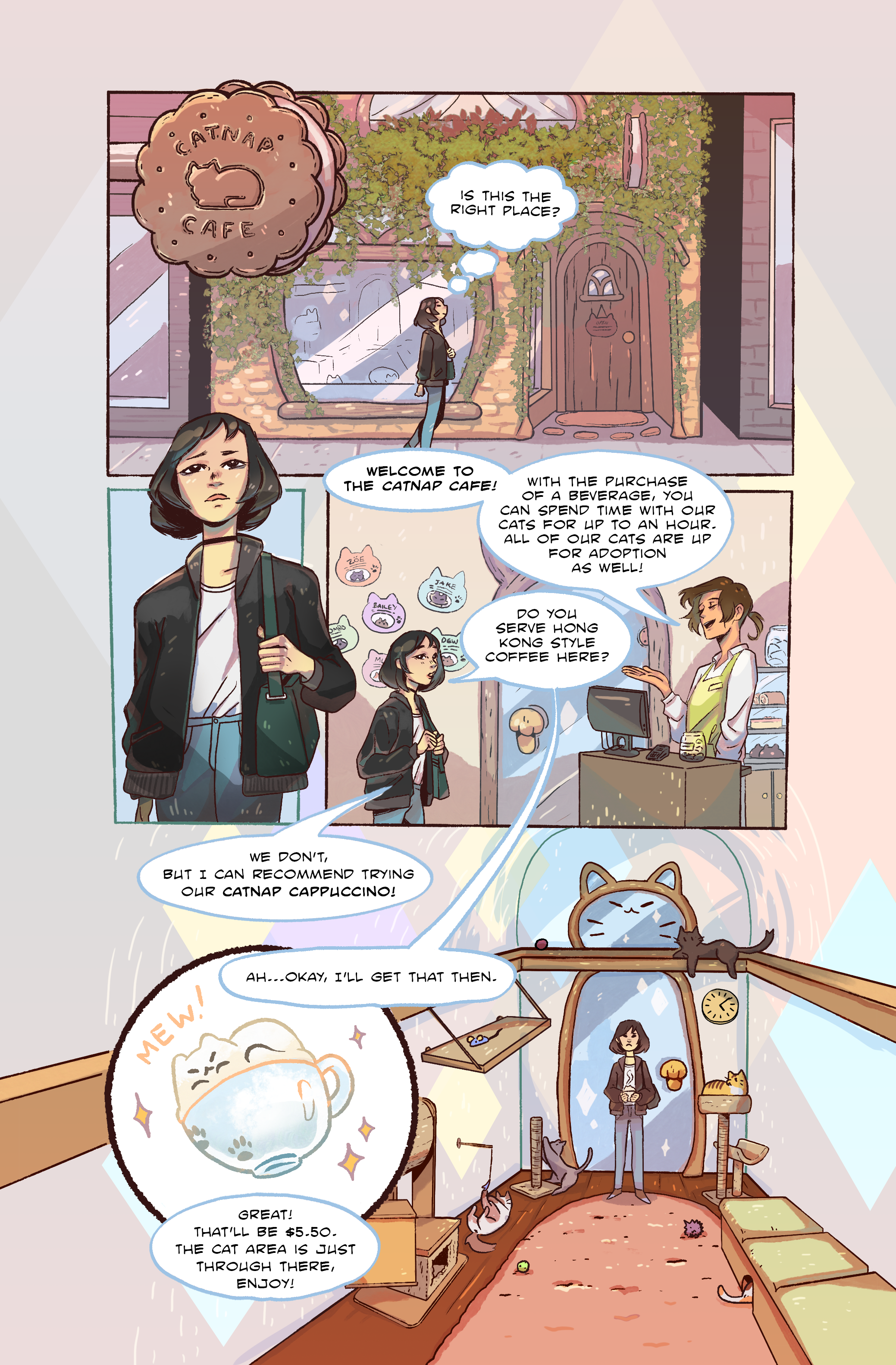 Catnap Cafe - Page 1