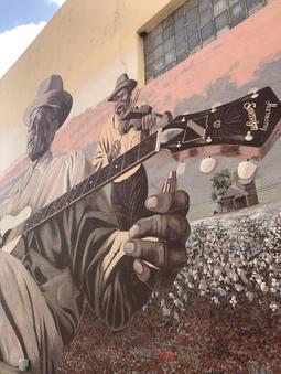 Mance Mural in Navasota, TX