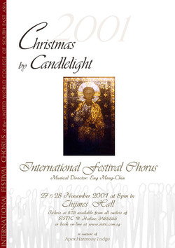 Winter 2001 - Christmas by Candlelight
