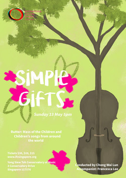 Spring 2018 - Simple Gifts