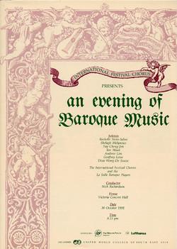 Winter 1991 - An Evening of Baroque Music