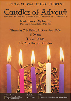 Winter 2006 - Candles of Advent