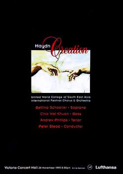 Winter 1995 - Haydn Creation