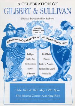 Spring 1998 - A Celebration of Gilbert and Sullivan