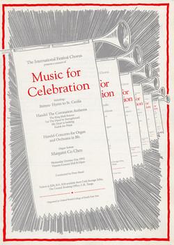 Winter 1992 - Music for Celebration