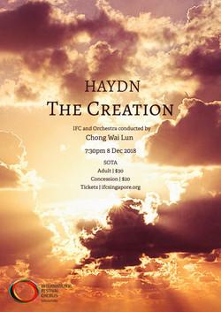Winter 2018 - Haydn The Creation
