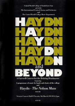 Spring 1993 - Haydn and Beyond