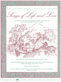 Spring 1992 - Songs of Life and Love