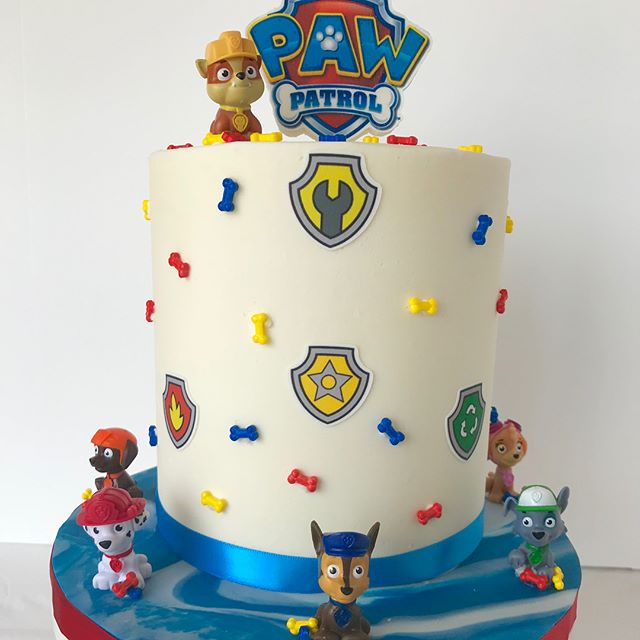 #pawpatrol #cake #decoratedcookies #cake