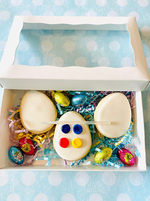 Water Color Easter Egg Cookie Set