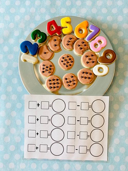 Math Cookie Set