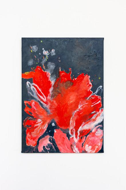 2020, oil on paper, 65 x 50 cm