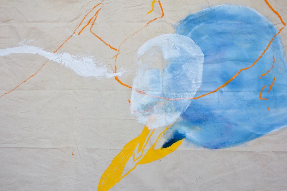 2019, 200 x 270 cm, oil & tex on canvas