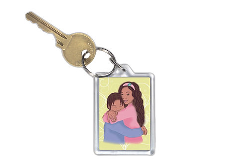 Key Ring - Sibling Love
