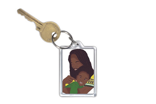 Key Ring - He's My Hero