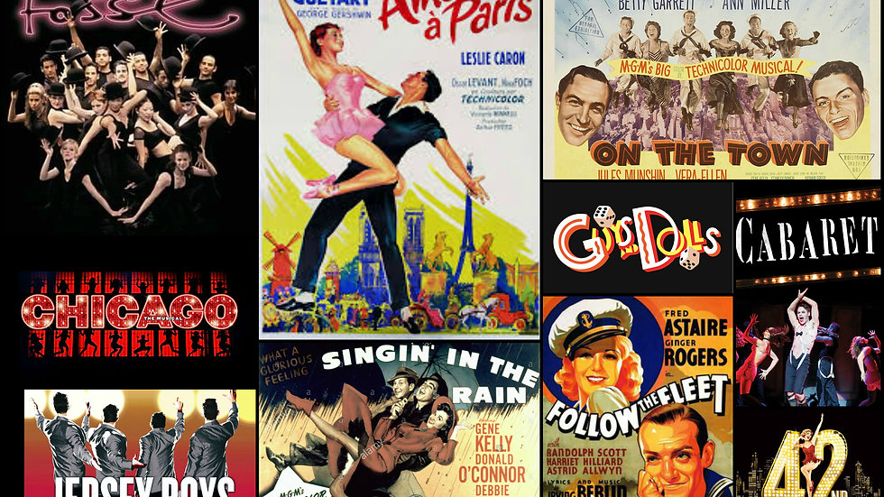 From MGM To Broadway -  Vintage Show Posters