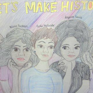 Lets Make History orginal drawing