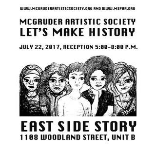 Flyer for Eastside Story Exhbit