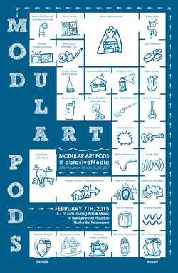 Modular Art Pods Poster