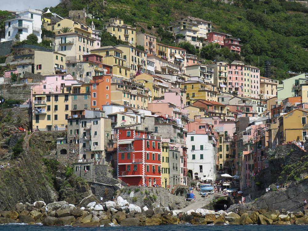 Riomaggiore, Cinque Terre, Ligurien