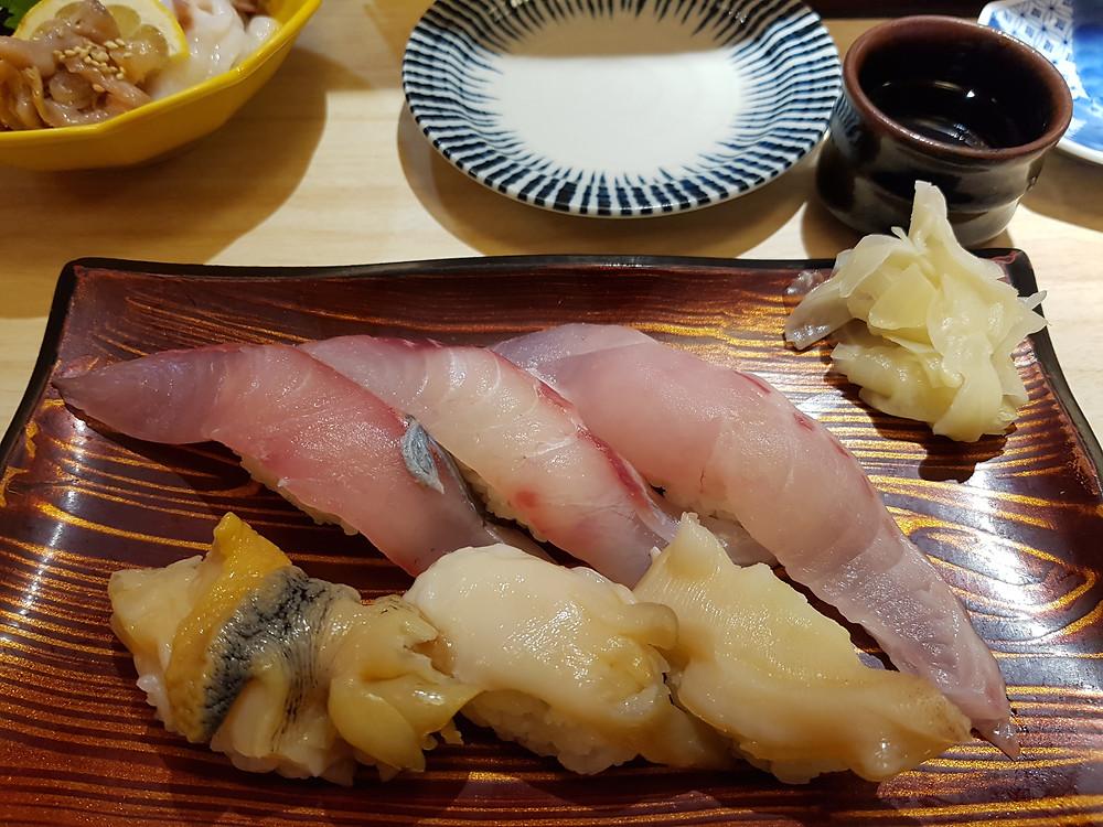 Sushi im Restaurant Kizuna Sushi