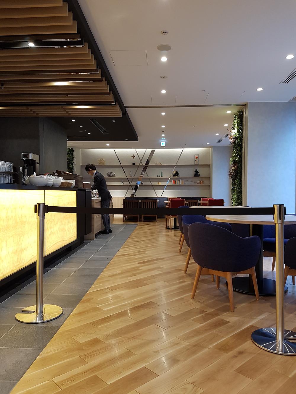 Frühstücksbereich im Hotel Intergate Tokyo Kyobashi