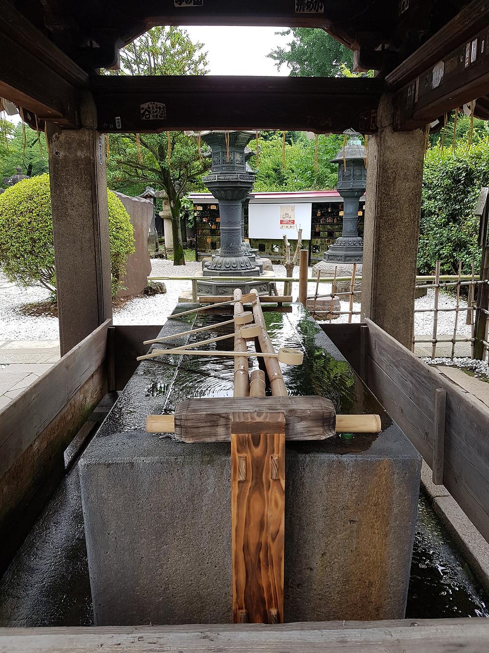 Brunnen zum rituellen Reinigen des Mundes