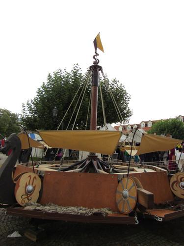 Wikinger-Holz-Karusell