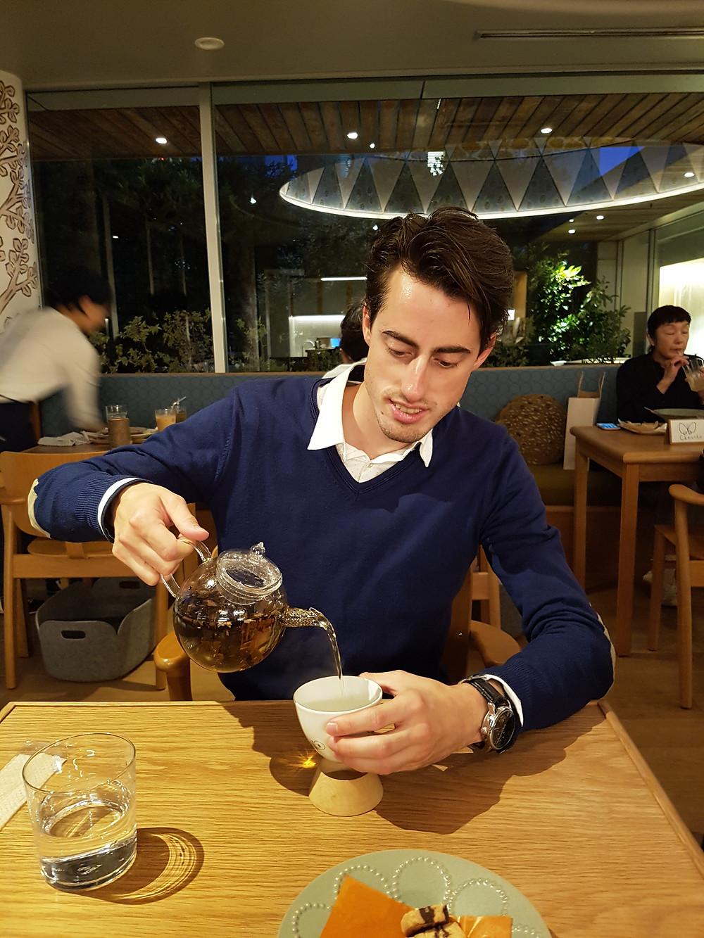 Sakurai Tee im Spiral