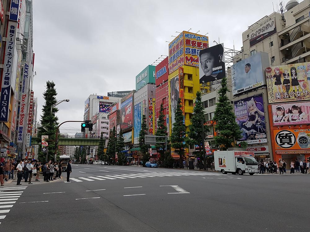 Hauptstrasse von Akihabara