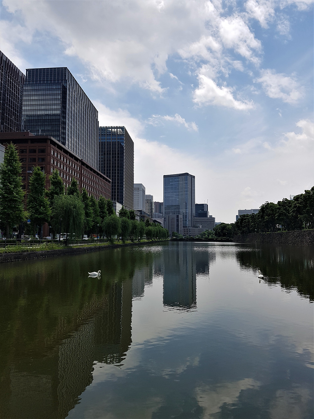 Chiyoda, Tokyo - Zwischen dem Kaiserpalast und der Tokyo Station