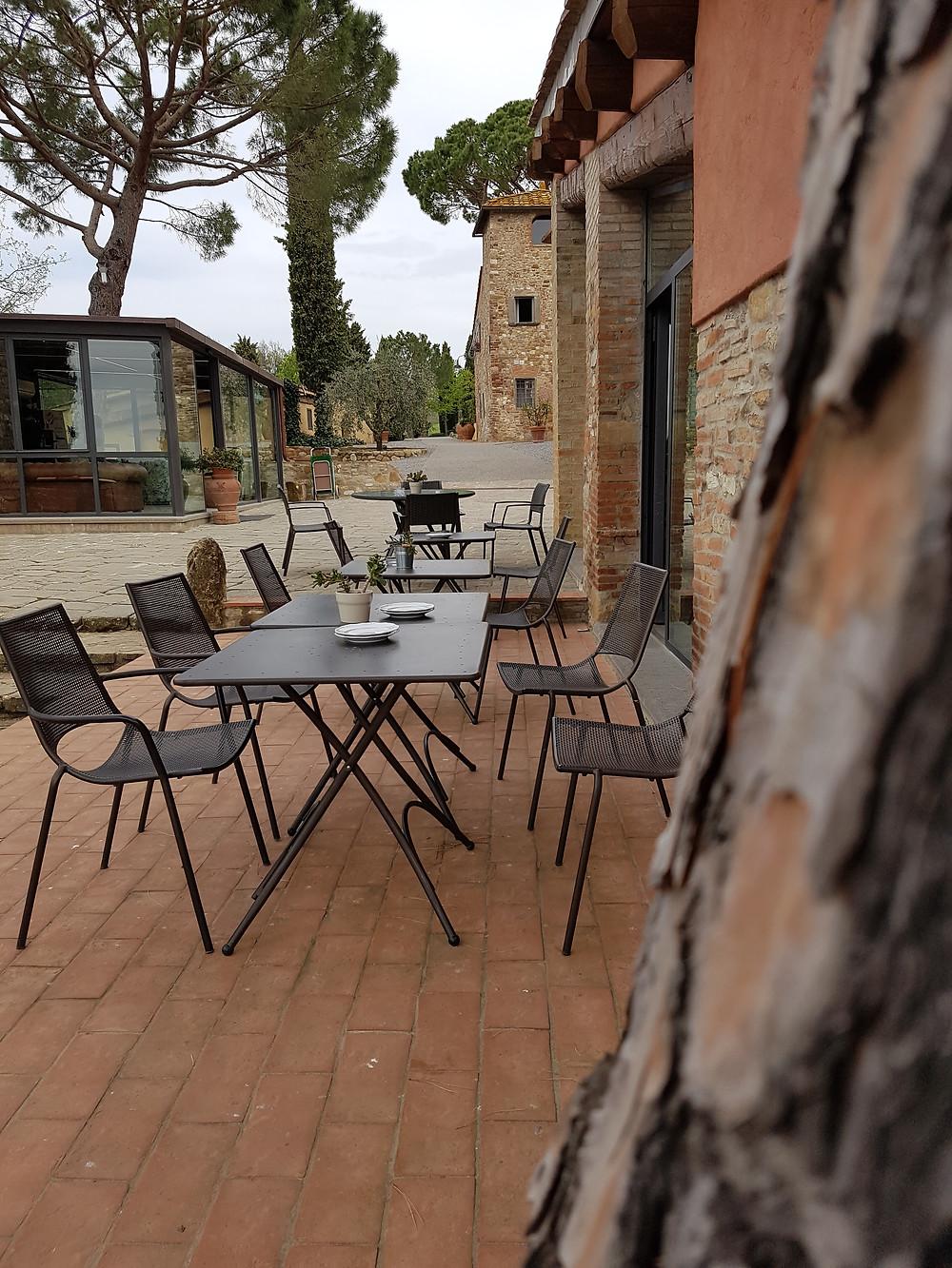 Hotel Salvadonica - Restaurant und Terrasse