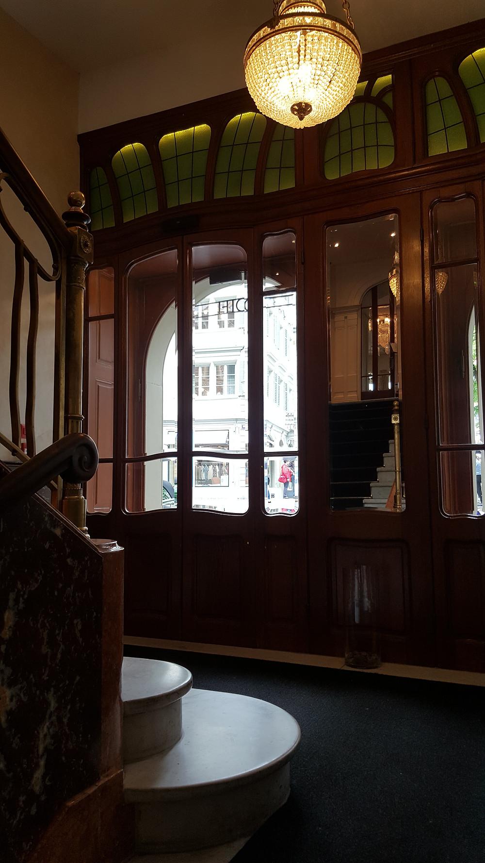 Eingang Hotel des Balances