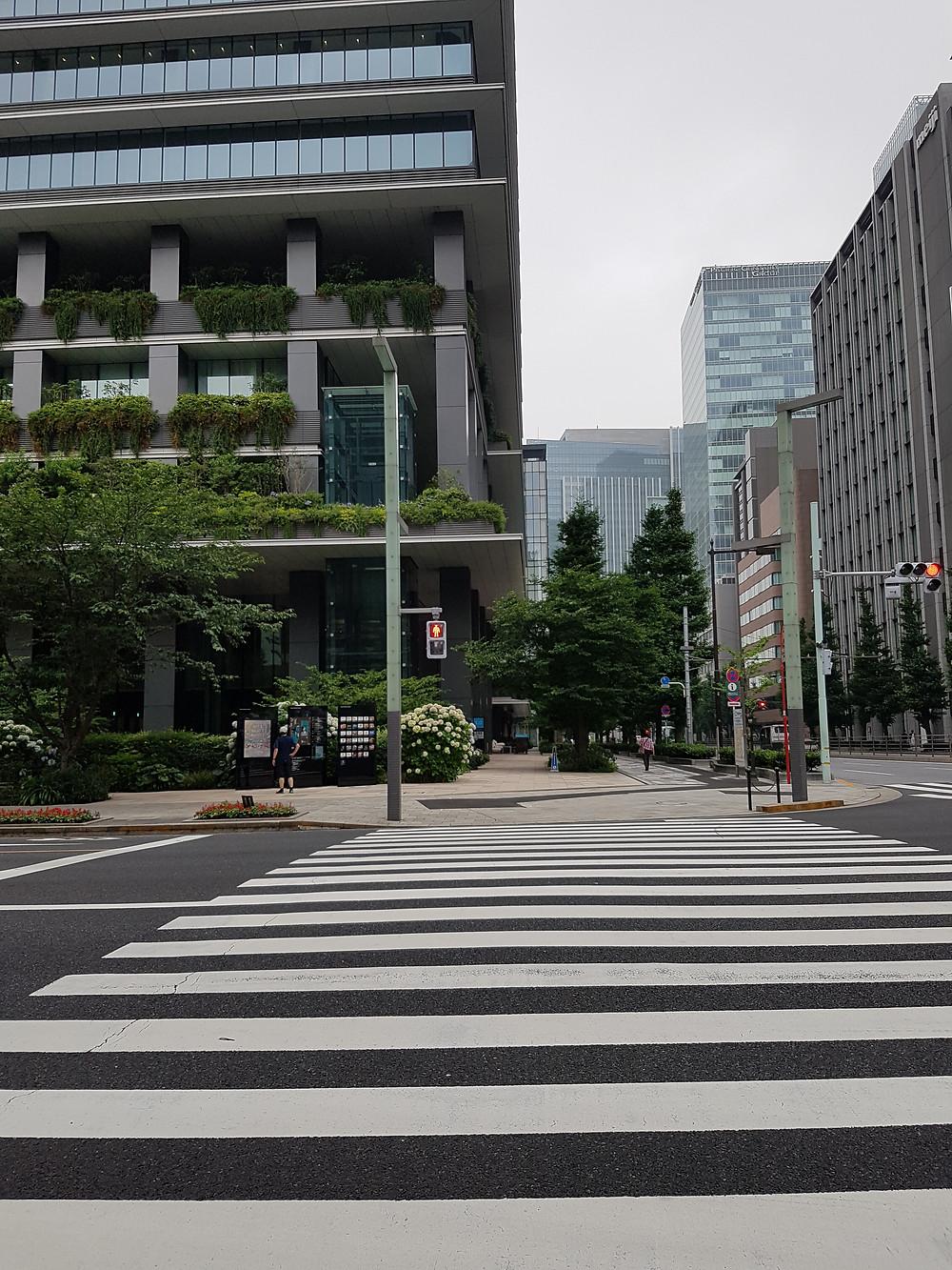 Strasse in Kyōbashi