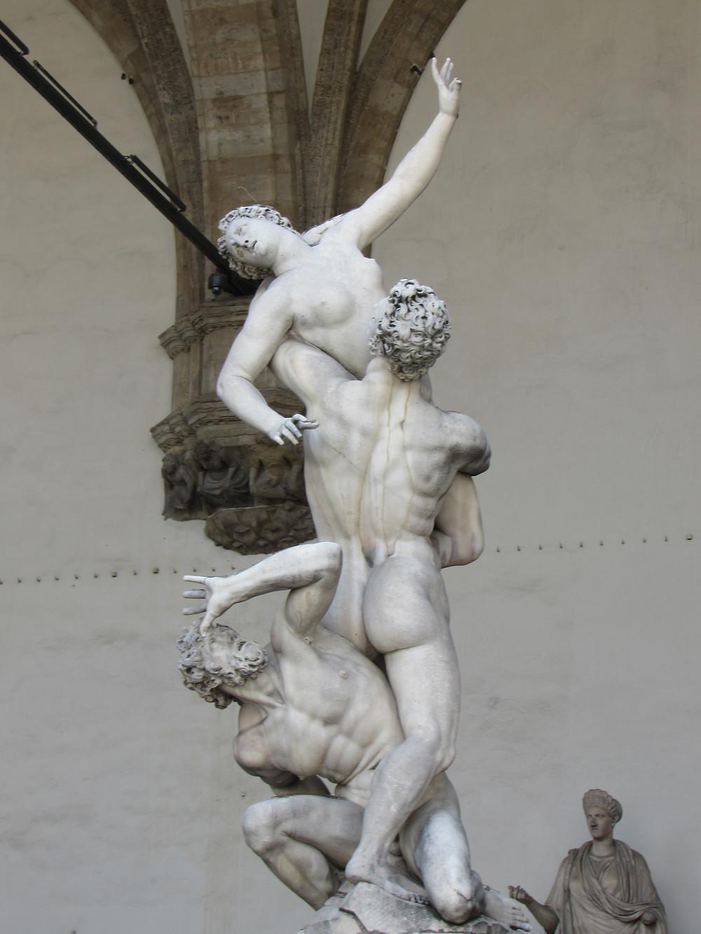 Skulptur in der Loggia dei Lanzi