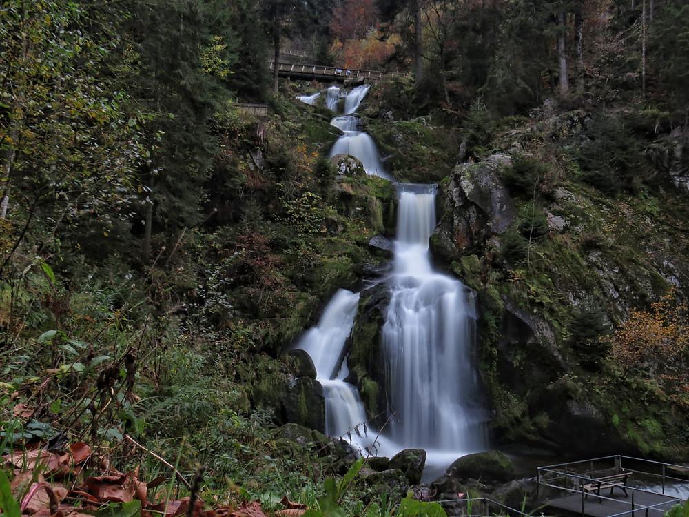 Unterster Teil der Wasserfälle
